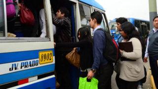 Manchay: se normaliza tránsito vehicular tras enfrentamientos y bloqueos