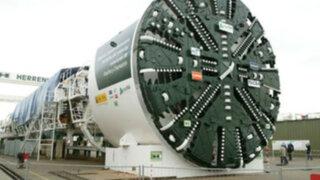Perú adquiere impresionantes máquinas para construcción de Línea 2 del Metro de Lima