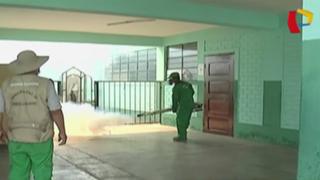 Alerta por Zika: fumigan colegios del Callao