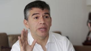 Voto Batería: Julio Guzmán afirma que 'están tratando de tumbar' su candidatura