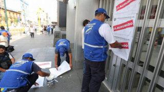 Centro de Lima: cierran supermercado Metro por falta de seguridad