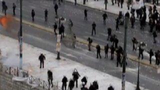 Grecia: ciudadanos protestan por reforma de pensiones