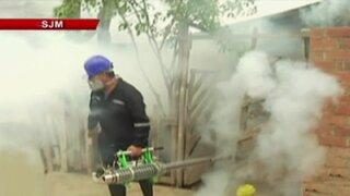 Inician labores de fumigación en San Juan de Miraflores por el zika