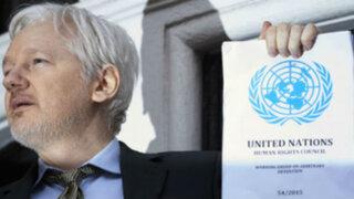 Julian Assange saluda fallo de la ONU que califica su detención como arbitraria