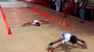 VIDEO: niños sorprenden al mundo con increíble flexibilidad