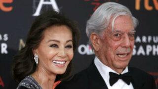 España: Mario Vargas Llosa e Isabel Preysler deslumbraron en Premios Goya