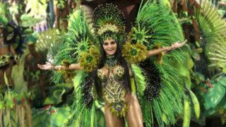 Brasil: se inicia el carnaval de Río de Janeiro