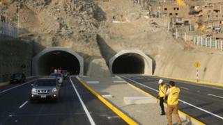 Amplían horario de acceso a túneles Santa Rosa y San Martín