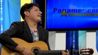 Max Castro cuenta sus proyectos musicales en Panamericana Espectáculos