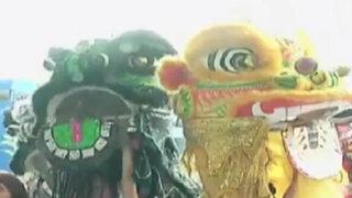 Año nuevo chino: así fueron las celebraciones en Lima
