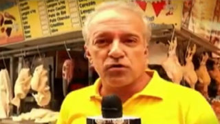 Hernando 'Nano' Guerra recorrió mercado de Lince y habló con La Batería