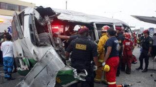 Chosicano que causó accidente debe más de 25 mil soles en papeletas