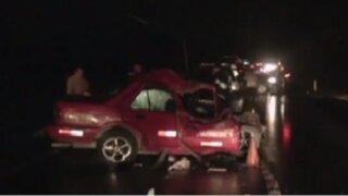 Junín: Violento accidente deja cuatro muertos