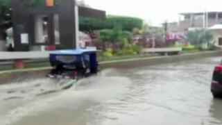 Tumbes: intensa lluvia hace colapsar red de alcantarillado