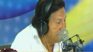 Alejandro Toledo participa del panel de 'Los Chistosos' y se expresa así ante anuncio de Acuña