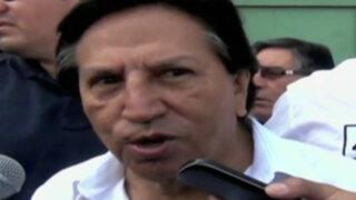 Tacna: Alejandro Toledo incómodo por resultados en simulacro de votación