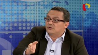 """Víctor Andrés Ponce: """"Simulación de voto aparece como una presión al JNE"""""""