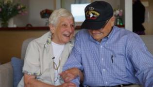 Australia: pareja se reencuentra después de 72 años