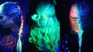 Cabello fluorescente, la nueva tendencia que enloquece a miles de mujeres en el mundo