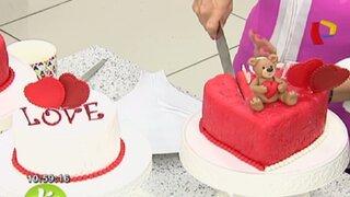 Pasos para preparar una torta ideal para celebrar el Día de San Valentín