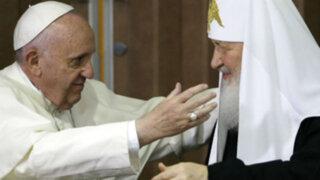 Cuba: histórica reunión entre papa Francisco y patriarca ortodoxo ruso