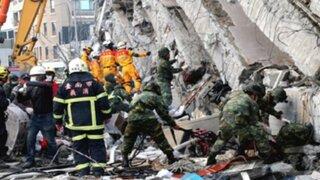 Taiwán: concluyen tareas de rescate por terremoto y contabilizan 116 muertos