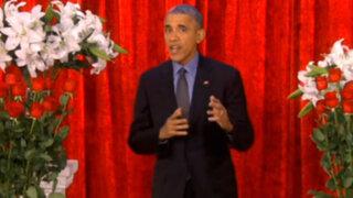 EEUU: Barack Obama recita poema de amor a su esposa en televisión