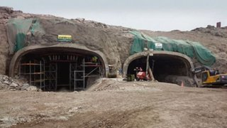 Ate: inician marcha blanca en túneles de Puruchuco