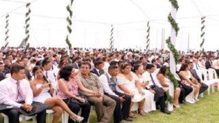 San Valentín: más de 100 parejas se casaron en la Costa Verde