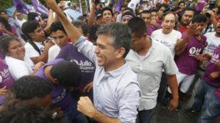 JNE emitirá este martes resolución sobre candidatura de Julio Guzmán