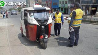 Santa Clara: operativo contra mototaxis ilegales termina en batalla campal