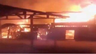 Puerto Maldonado: incendio destruyó cerca de 40 viviendas