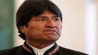 Evo Morales presentará contrademanda a Chile por aguas del Silala