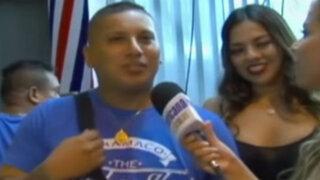Luisito Caycho inaugura barbería y presenta nueva novia