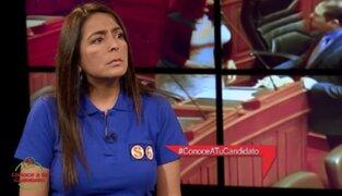 Conoce a tu candidato: Valia Barak apoya la despenalización del aborto en casos de violación