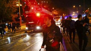 Turquía: atentado terrorista deja 28 muertos y decenas de heridos