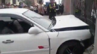 Arequipa: delincuentes provocan violento choque durante fuga dejando dos muertos