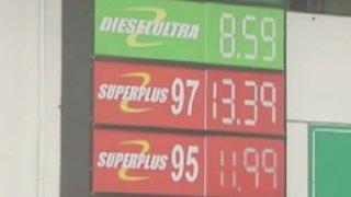 Nuevos precios de combustible no se reflejan en grifos