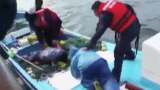 Autoridades intervienen a 'piratas' ecuatorianos en Piura