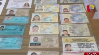 Tacna: agentes del grupo Terna desbaratan red de falsificadores