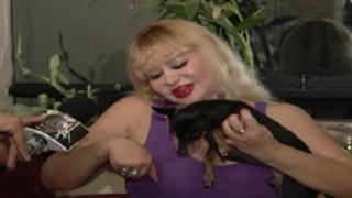 Susy Díaz nos presenta a su mascota 'chiki'