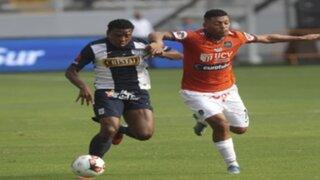Alianza Lima igualó 1-1 con César Vallejo y comparte la punta del torneo con Juan Aurich