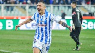 VIDEO: Gianluca Lapadula anotó otra vez con el Pescara en la Serie B
