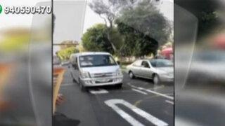 Pese a estar prohibido, colectivos informales circulan por Corredor Azul
