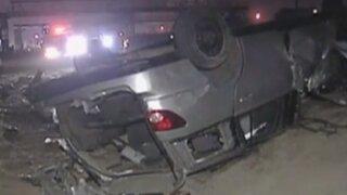 VES: conductor pierde la vida tras dar varias vueltas de campana