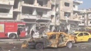 Siria: más de 180 personas mueren en diferentes atentados en Damasco