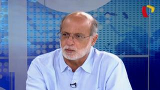 """Daniel Abugattás: """"No me cabe duda que Julio Guzmán es el candidato del Ejecutivo"""""""