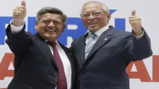 Humberto Lay renunció a su candidatura a la vicepresidencia ante denuncias a César Acuña