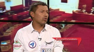 El 'Chorri' Palacios y su respuesta a las críticas contra César Acuña
