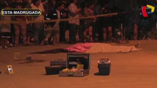 Desconocidos asesinan de varios disparos a exmarino en SMP